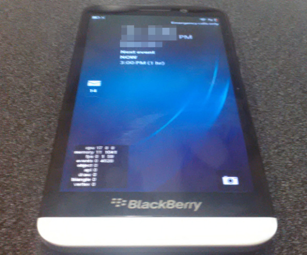 Blackberry Coming A10 with 5 inch Display